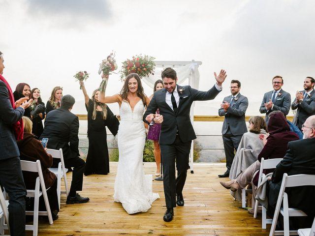 Jared and Justine's Wedding in Roxbury, New York 32