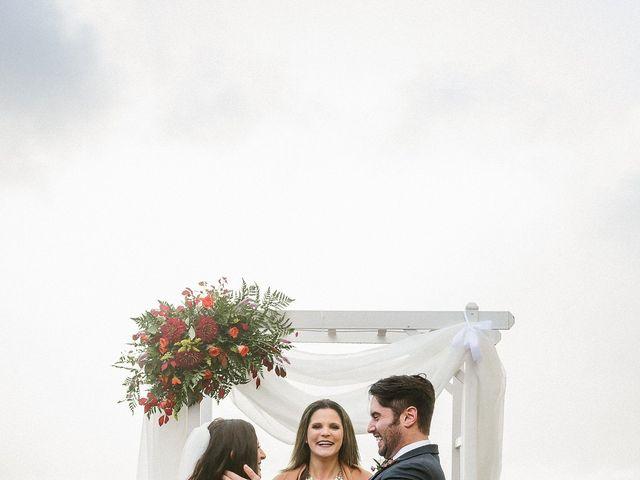 Jared and Justine's Wedding in Roxbury, New York 34