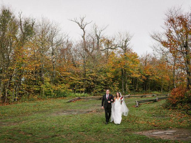 Jared and Justine's Wedding in Roxbury, New York 39