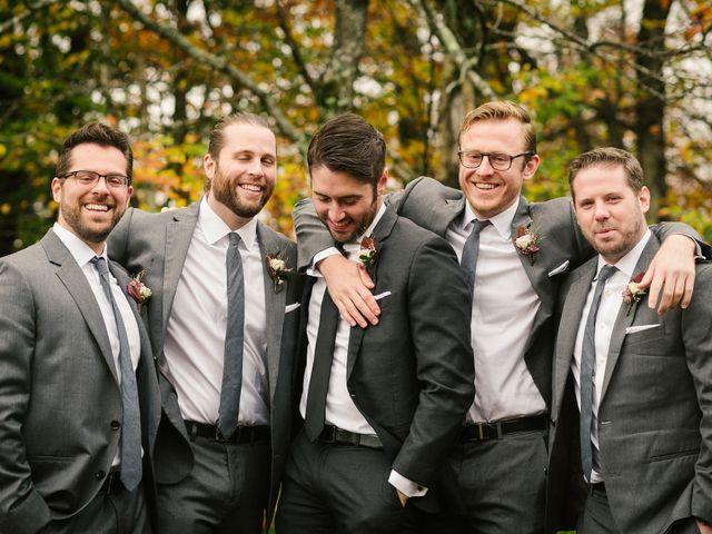 Jared and Justine's Wedding in Roxbury, New York 57