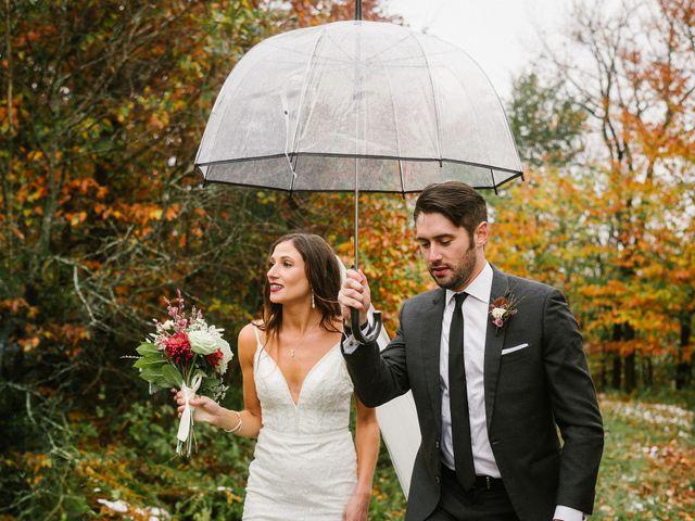 Jared and Justine's Wedding in Roxbury, New York 60