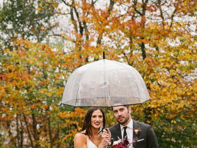 Jared and Justine's Wedding in Roxbury, New York 62