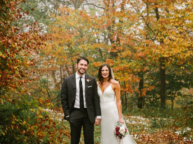 Jared and Justine's Wedding in Roxbury, New York 65