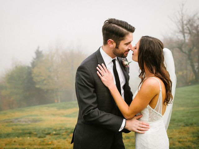 Jared and Justine's Wedding in Roxbury, New York 69