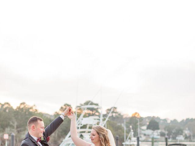 Sawyer  and Brianna 's Wedding in Virginia Beach, Virginia 5