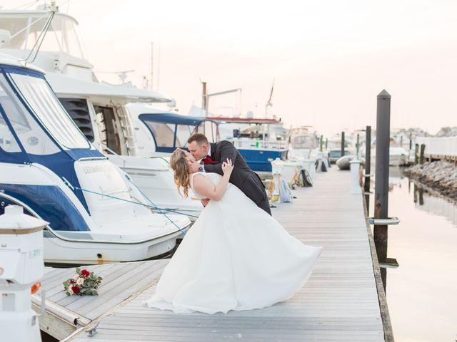 The wedding of Brianna  and Sawyer