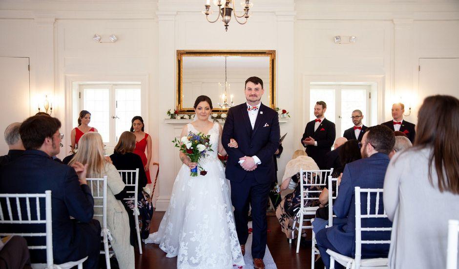 Alex and Cyndi's Wedding in Ridgefield, Connecticut