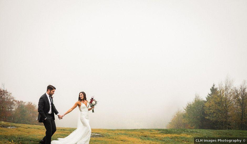 Jared and Justine's Wedding in Roxbury, New York