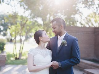 The wedding of Shervin and Linh