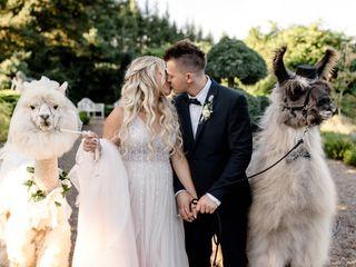 The wedding of Angelina and Oleg