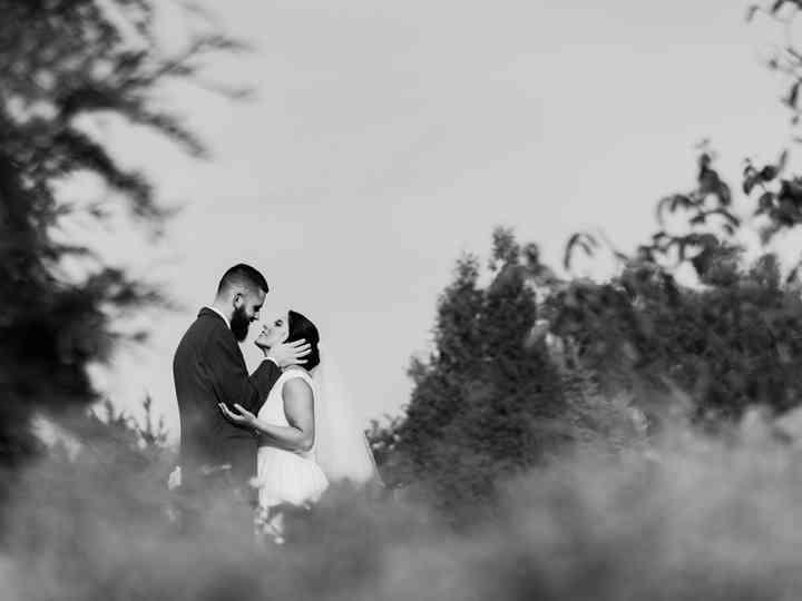 The wedding of Katherine and Brandan