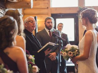 The wedding of Kirsten and Kevin 1
