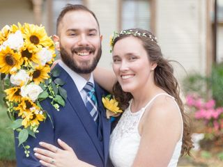 The wedding of Meghan and Jesse