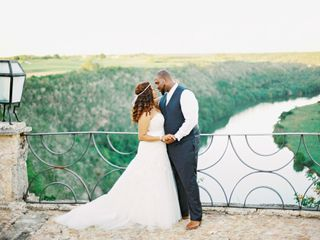 The wedding of Gerald and Krystin