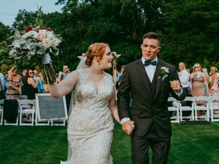 The wedding of Madilyn and Patrick
