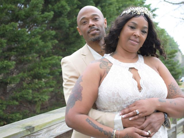 The wedding of Walter and LaTasha