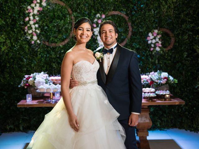 The wedding of Mayelinne and Mario