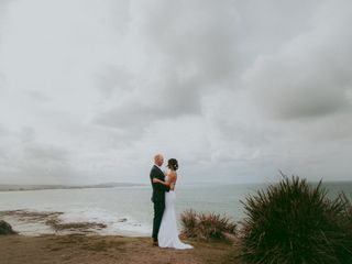 The wedding of Kieran and Tonya