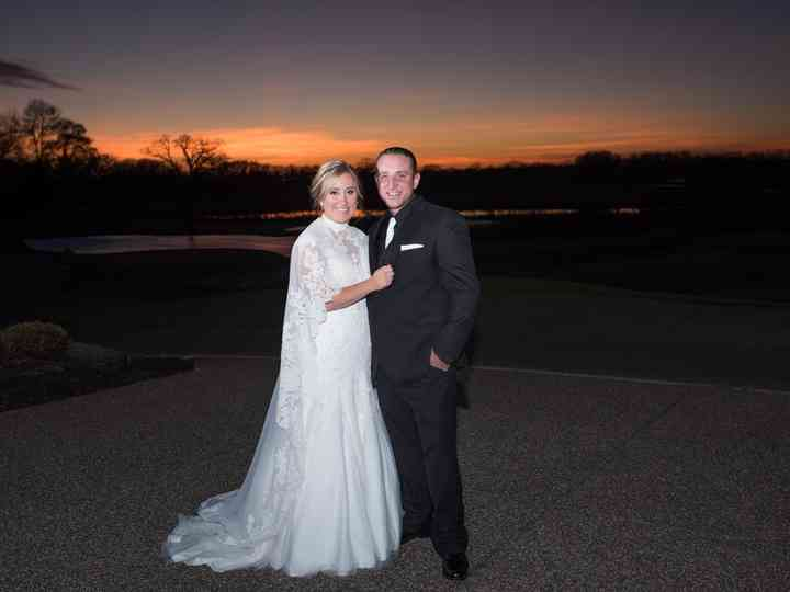 The wedding of Josh and Brittany