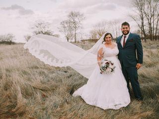 The wedding of Lizzy and Matt