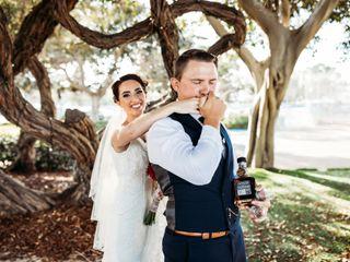 The wedding of Annie and Matt