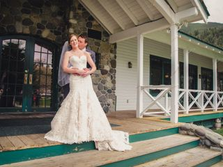 The wedding of Kyle and Kathryn