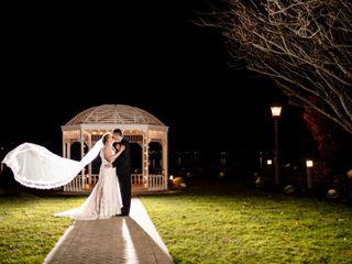 The wedding of Maura and Greg