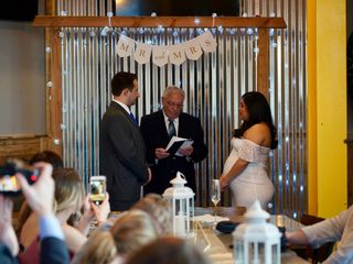 The wedding of Paul and Laura 1