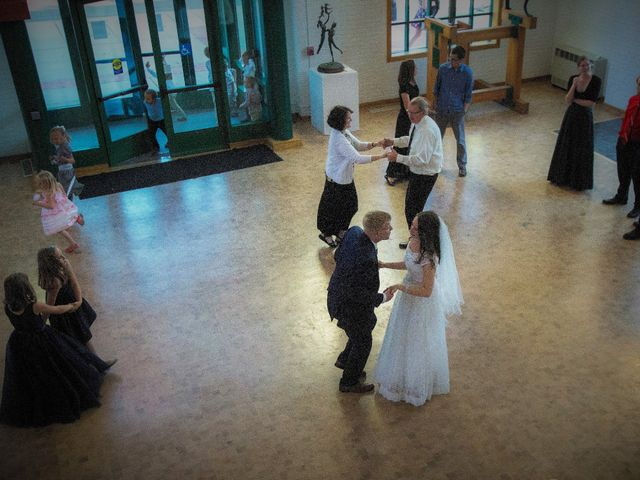 The wedding of Peter and Taitlyn