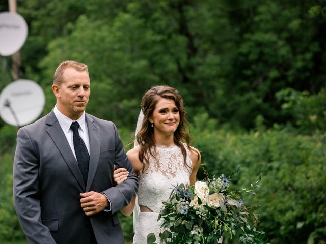 Nathan and Bree's Wedding in Spearfish, South Dakota 6