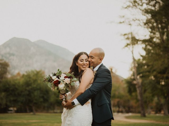 The wedding of Jazmin and Giovanni