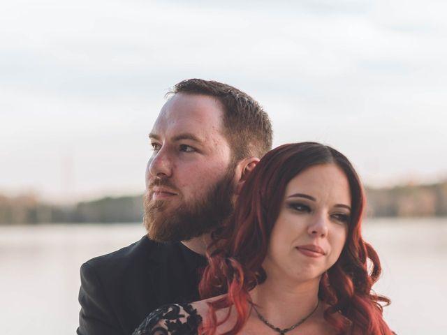Amber and Evan's Wedding in Orlando, Florida 6