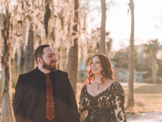 Amber and Evan's Wedding in Orlando, Florida 10
