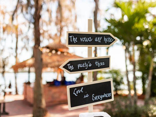 Amber and Evan's Wedding in Orlando, Florida 35