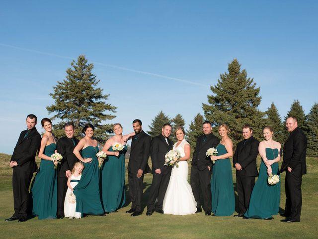 Brittany and Josh's wedding in Minnesota 12