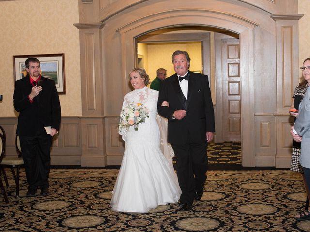 Brittany and Josh's wedding in Minnesota 13