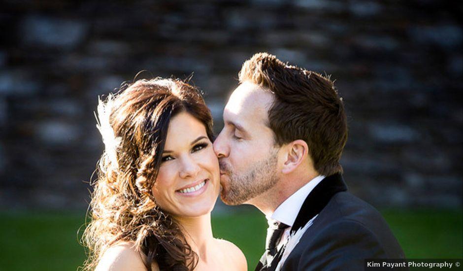 Heather and Gordie's Wedding in Alberta, Virginia