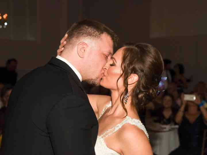 The wedding of Melissa and Blane