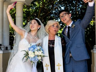 The wedding of Shu and Shysie 2