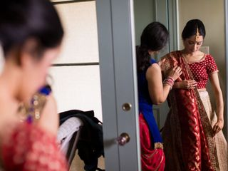 The wedding of Rashmi and Wien 1