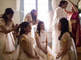 The wedding of Rashmi and Wien 2