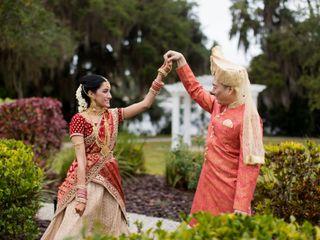 The wedding of Rashmi and Wien