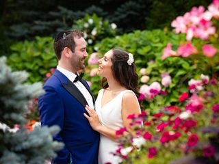 The wedding of Deena and Zach