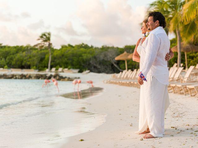 Frank and Michele's Wedding in Oranjestad, Aruba 1