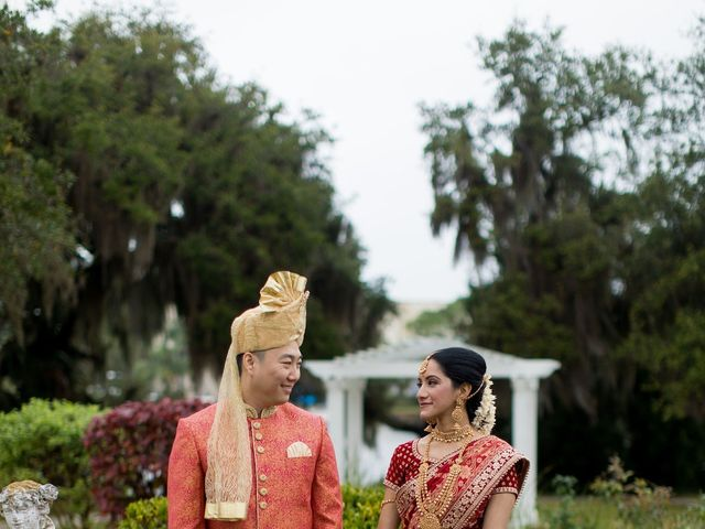 Wien and Rashmi's Wedding in Sarasota, Florida 22