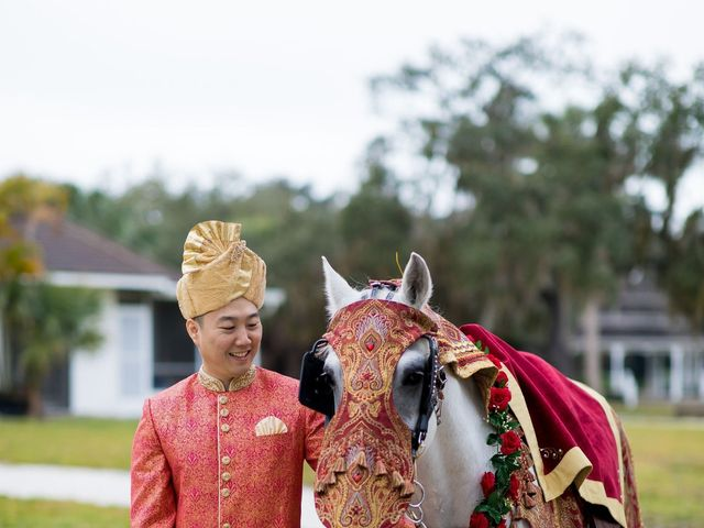 Wien and Rashmi's Wedding in Sarasota, Florida 24