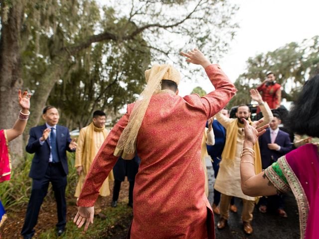 Wien and Rashmi's Wedding in Sarasota, Florida 30