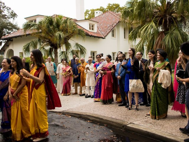 Wien and Rashmi's Wedding in Sarasota, Florida 31