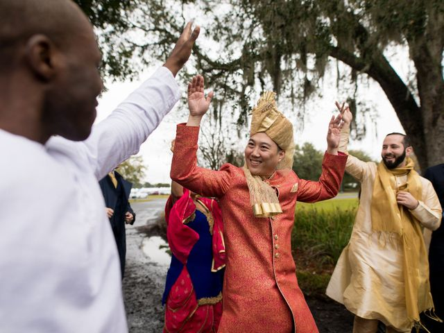 Wien and Rashmi's Wedding in Sarasota, Florida 33