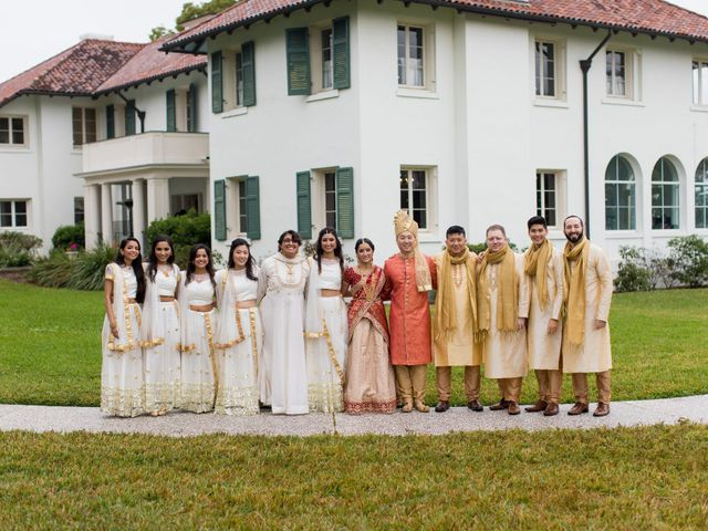 Wien and Rashmi's Wedding in Sarasota, Florida 35